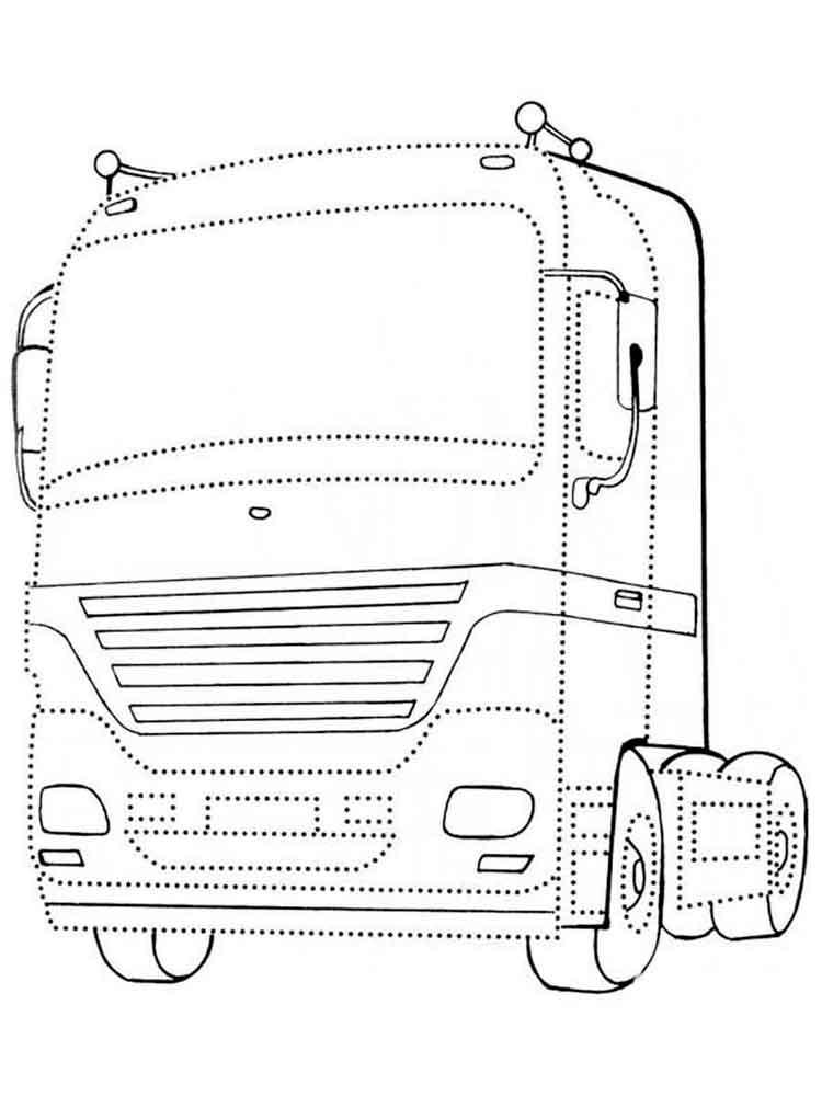 Раскраска кабин грузовиков