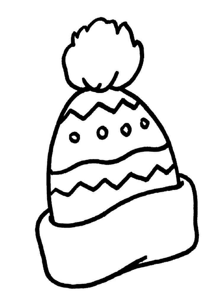 шапка и рисунок шуба