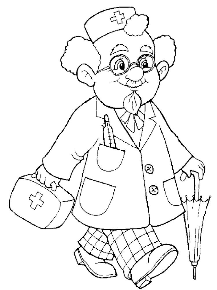 Рисунок доктор карандаш