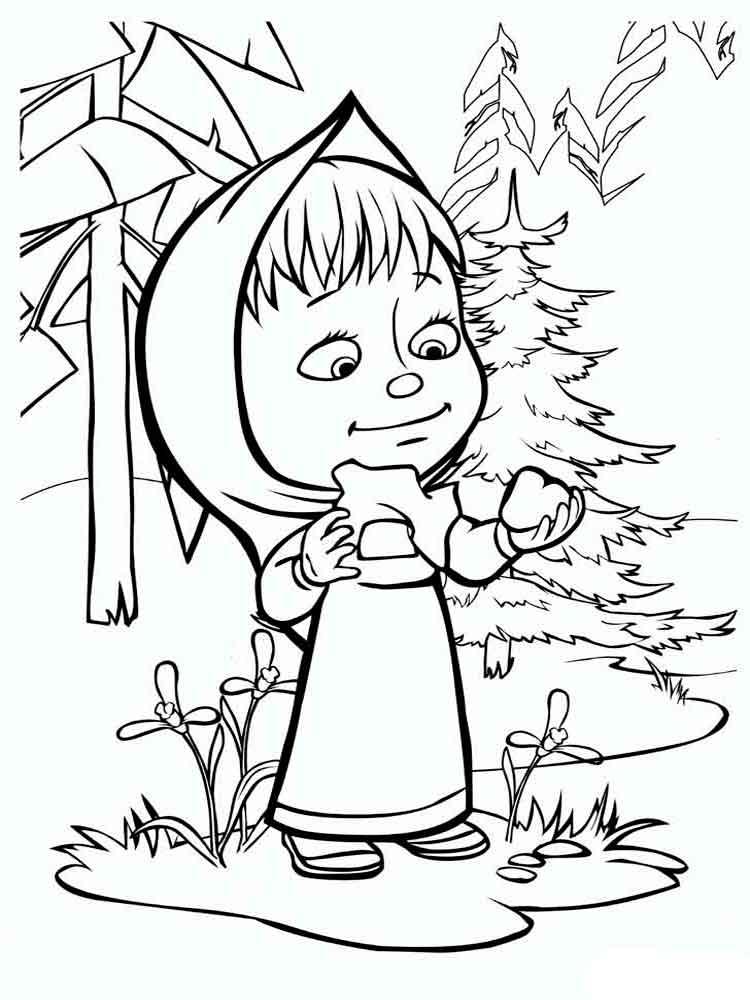 Детские раскраски распечатать для девочек 12