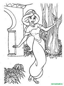 raskraski-princessa-Jasmine-7