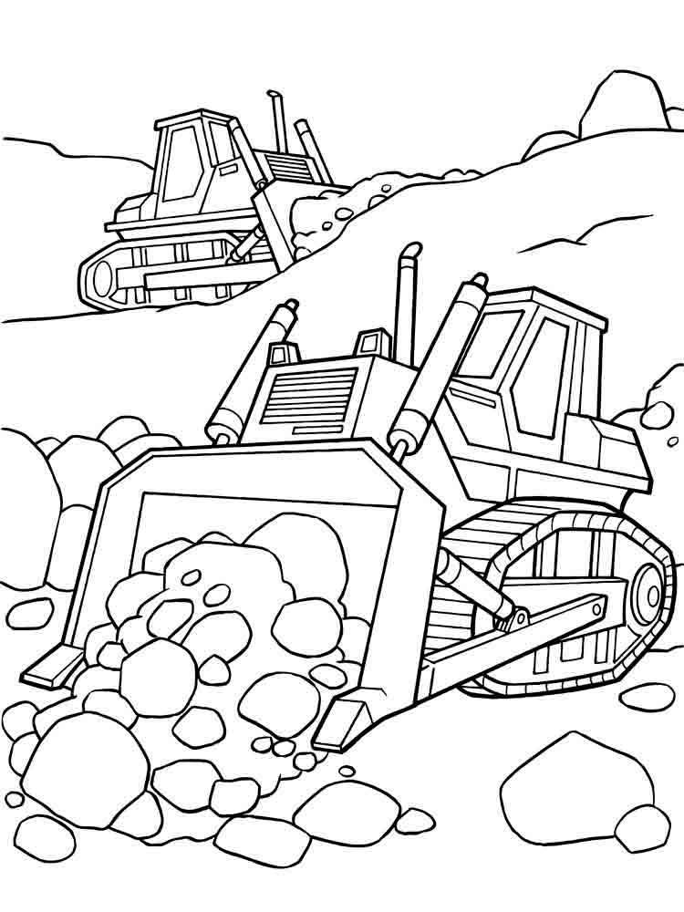 Снегоуборочная машина картинки для детей раскраски
