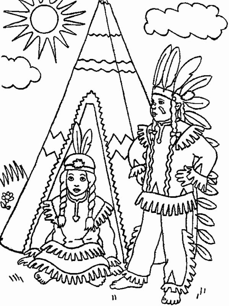 indian pictures for kids - 595×841