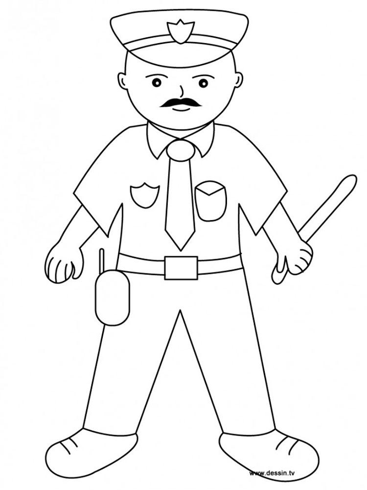 Картинки нарисованные карандашом полицейский