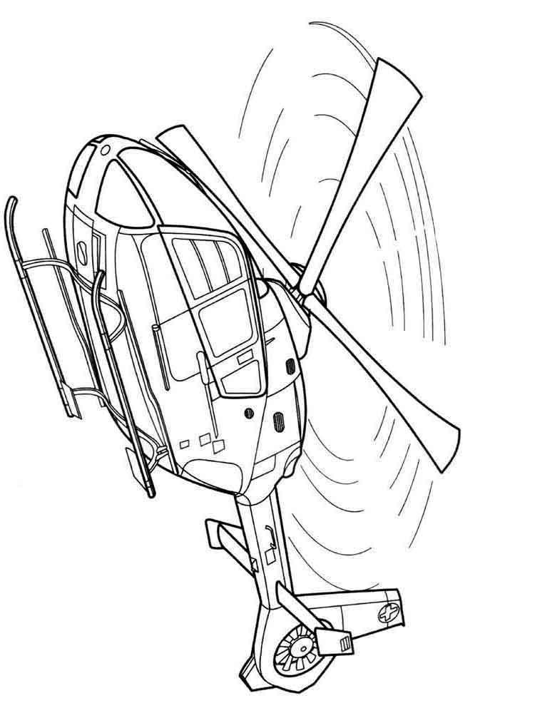 Раскраска Вертолет. Скачать и распечатать раскраски вертолет.