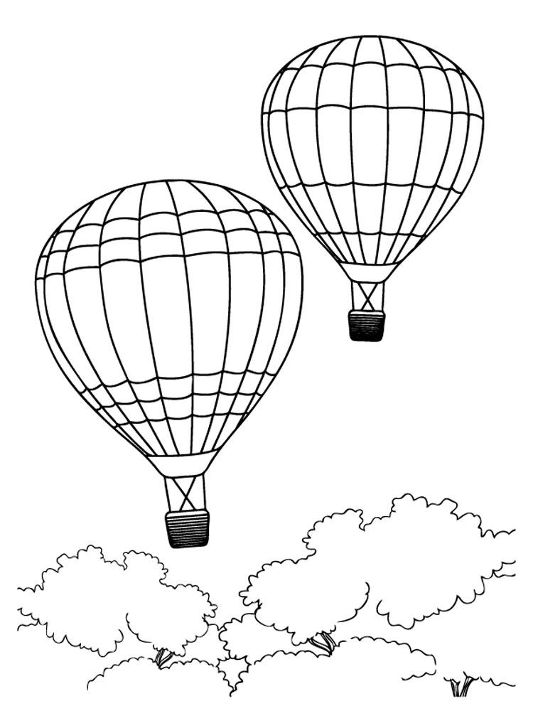 предложения картинки раскраски воздушный шар с корзиной лучшие обои для