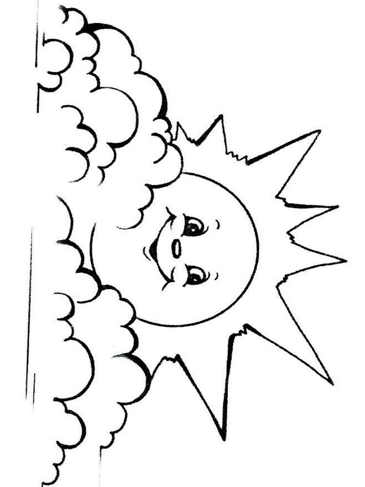 мороз ветер и солнце картинки раскраска печать