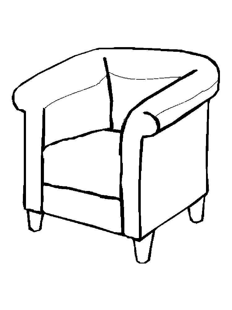 картинки предметы домашнего быта раскраски диван кипящий