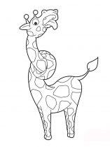 raskraska-giraffe-5