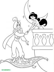 raskraski-princessa-Jasmine-1