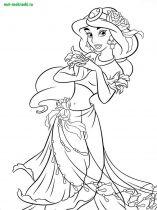 raskraski-princessa-Jasmine-5