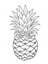 raskraski-frukty-ananas-1