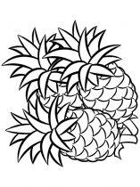 raskraski-frukty-ananas-11
